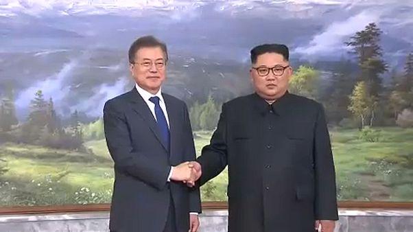 Korea-közi csúcs az amerikai-észak-koreai csúcstalálkozóért