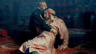Une célèbre peinture vandalisée en Russie
