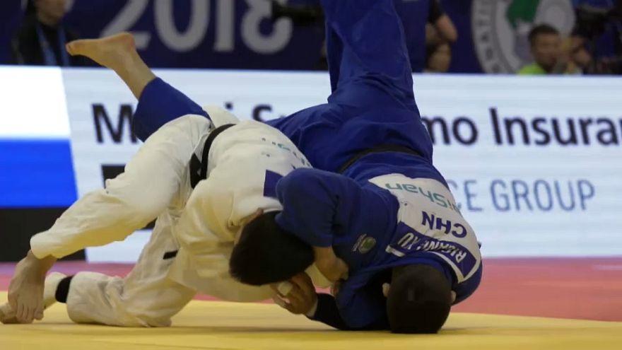 Judo : An Chang-rim prend sa revanche à Hohhot
