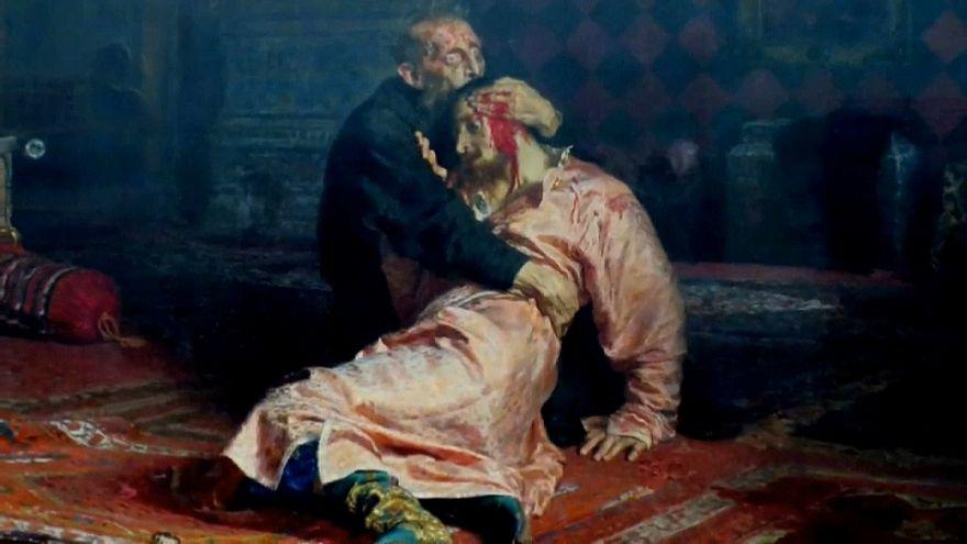 Rusya: Korkunç Ivan tablosuna saldırı
