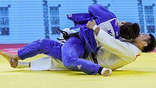 Changrim An nel combattimento contro Soichi Hashimoto