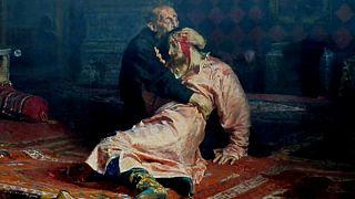 Mann (37) wollte Gemälde von Iwan, dem Schrecklichen, zerstören