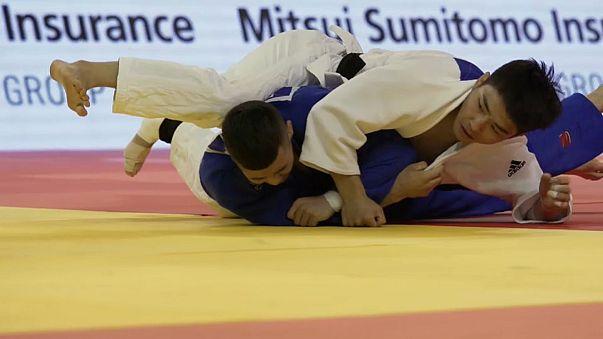 As figuras do segundo dia no Grande Prémio de Judo de Hohhot