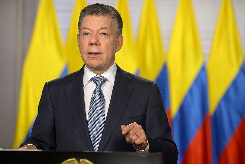 Presidencia colombiana/via REUTERS