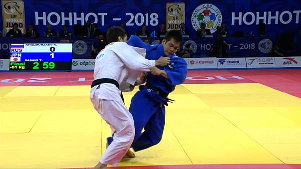 Hohhot Judo Grand Prix'sinde heyecan dorukta