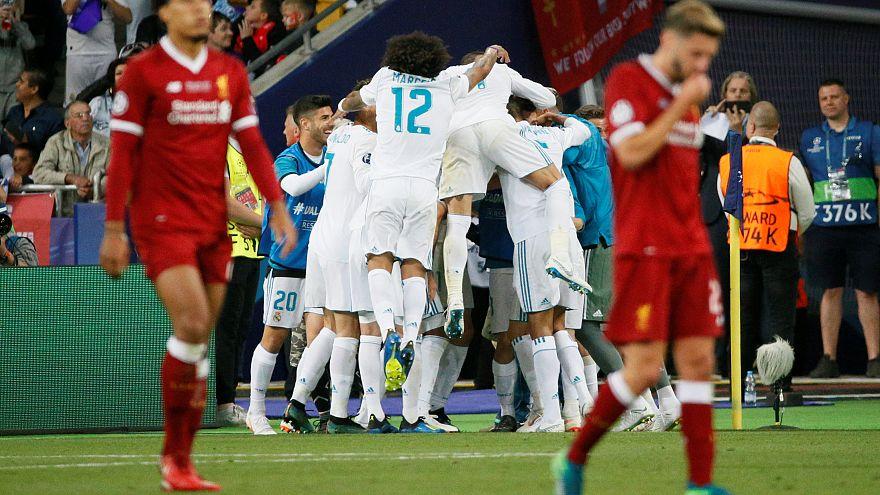 El Madrid gana su tercera Champions consecutiva ante el Liverpool