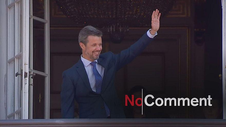 Príncipe herdeiro dinamarquês faz 50 anos
