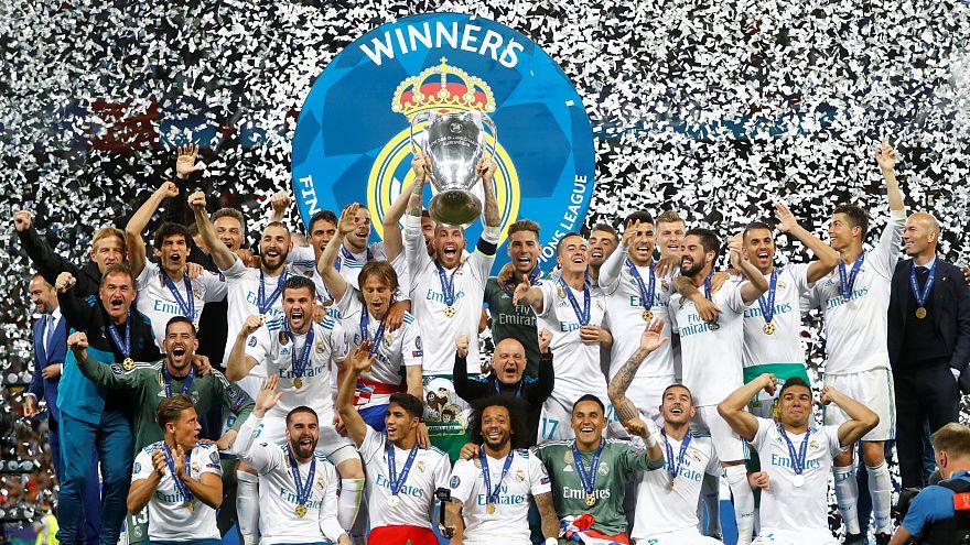 Şampiyonlar Ligi'ni Liverpool'u yenen Real Madrid kazandı
