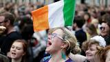 Iren feiern in Dublin