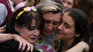 """Le """"oui"""" à l'IVG d'une large majorité d'Irlandais"""