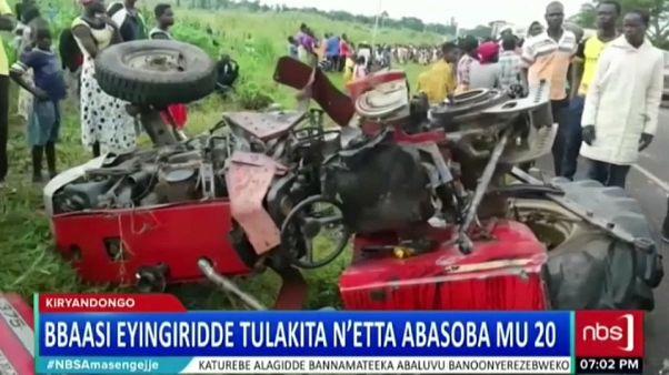 Uganda'da korkunç kaza onlarca can aldı