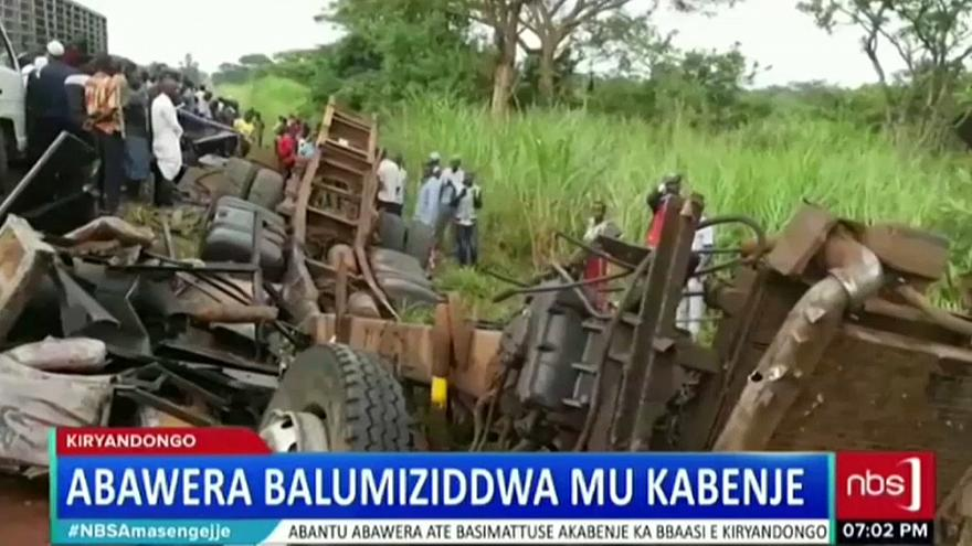 Ouganda : un accident fait des dizaines de morts