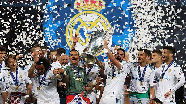 Η Ρεάλ Μαδρίτης στην κορυφή της Ευρώπης