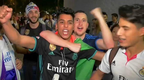 Madrid celebrations