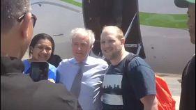 Venezuela szabadon engedett két amerikait