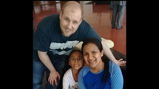 Venezuela'da tutuklu ABD vatandaşı ülkesine döndü