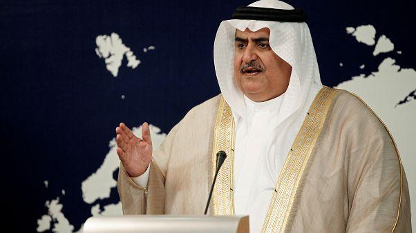 وزير خارجية البحرين خالد بن أحمد بن محمد آل خليفة