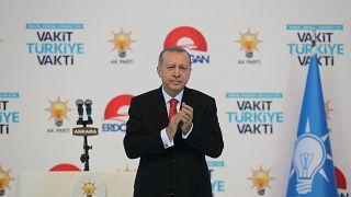 """Эрдоган: """"Храните деньги в лирах"""""""