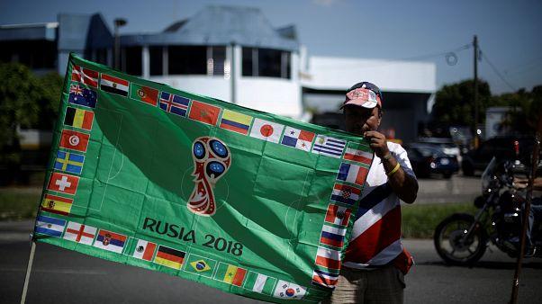 مراسم رونمایی از جام جهانی در سنتپترزبورگ
