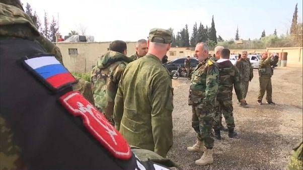 Al menos nueve soldados rusos mueren en Siria