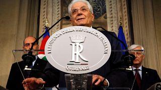 Italiens Staatspräsident Sergio Mattarella