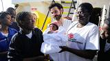 Baby born on humanitarian ship after mother picked up crossing the Mediterranean