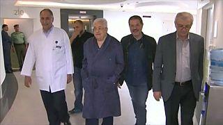 Rinviata dimissione di Abbas da ospedale