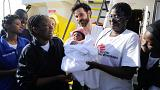 Mãe deu à luz bébé numa embarcação de resgate no Mediterrâneo