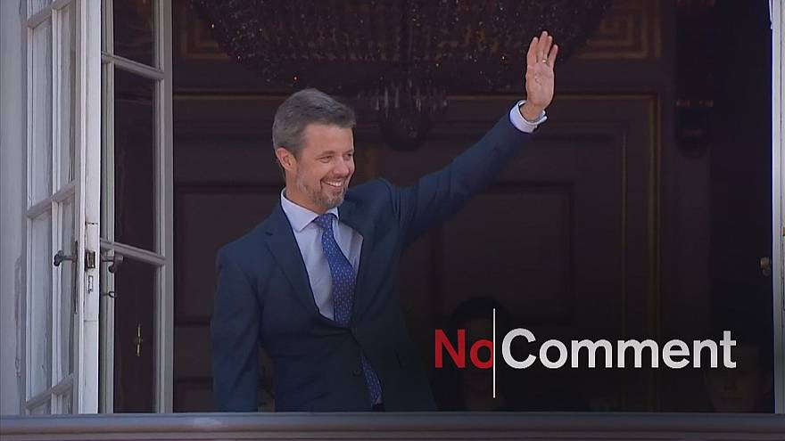Denmark's crown prince makes 50th birthday appearance