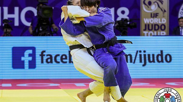 جودو؛ ورزشکاران آسیایی هر پنج مدال اوزان سنگین را در چین درو کردند