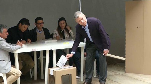 Colombia elige hoy presidente y el rumbo del proceso de paz