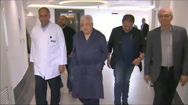 Abbas continua internado com uma infeção pulmonar