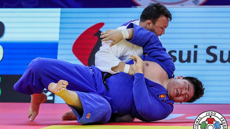 Super exciting judo on hand