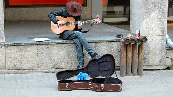 London buskers to accept contactless card payments