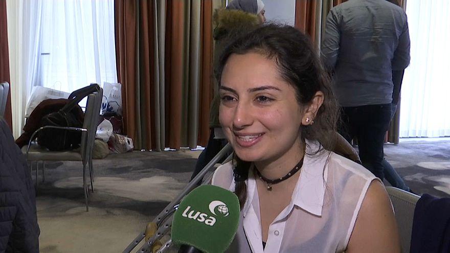 Estudantes sírios encontram a paz em Portugal