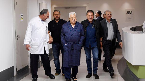 Mahmud Abbas im Krankenhaus