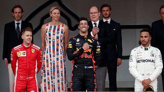 Formule 1 : Ricciardo maître sur le rocher
