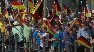 AfD-Demonstration und Gegenkundgebungen in Berlin