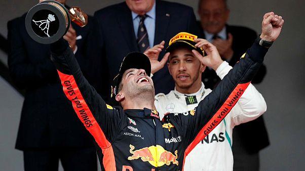 Daniel Ricciardo vuela en el Gran Premio de Mónaco