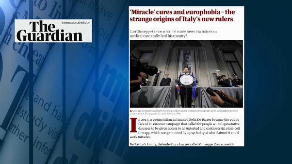 La stampa estera affonda Conte e Savona