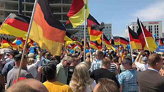 La extrema derecha muestra músculo en Berlín
