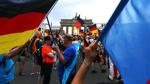 Demonstranten in Berlin