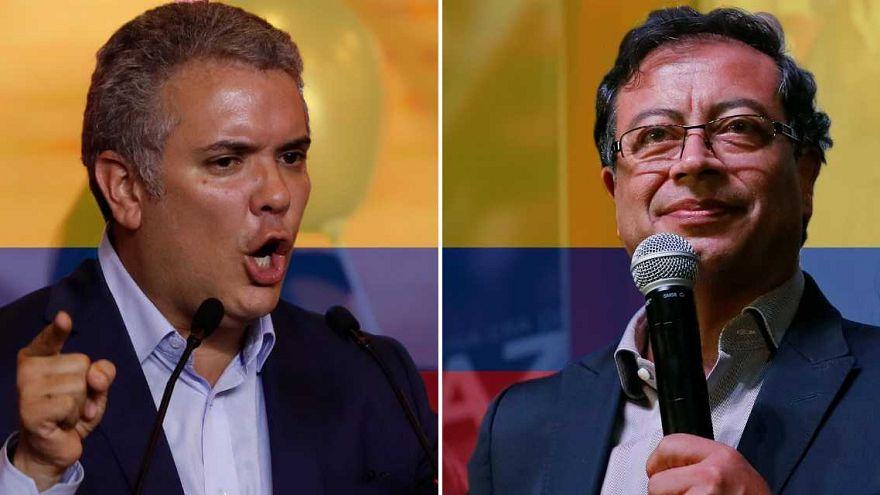 Duque y Petro se disputarán la presidencia de Colombia en la segunda vuelta