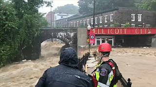 الفيضانات تضرب ايليكوت في ولاية ماريلاند مجدداً