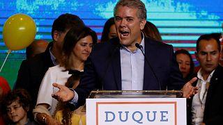 اولین انتخابات ریاست جمهوری کلمبیا پس از صلح با فارک، به دور دوم کشیده شد