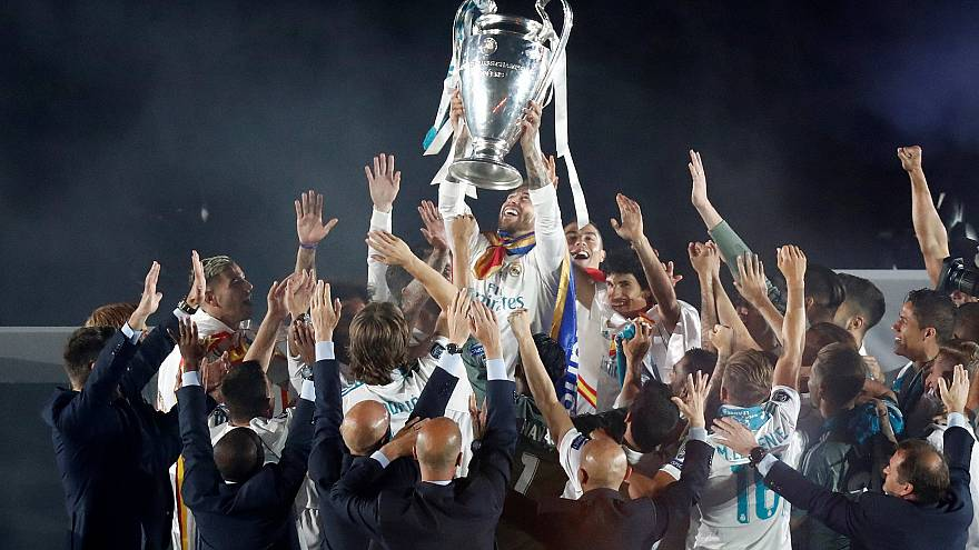 Apoteosis final del Real Madrid en el Bernabéu