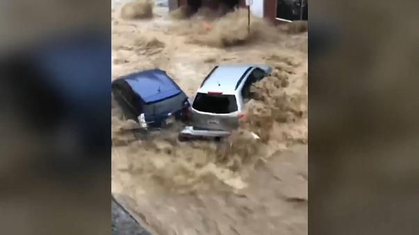 Inondations dans le Maryland aux Etats-UInis : les images