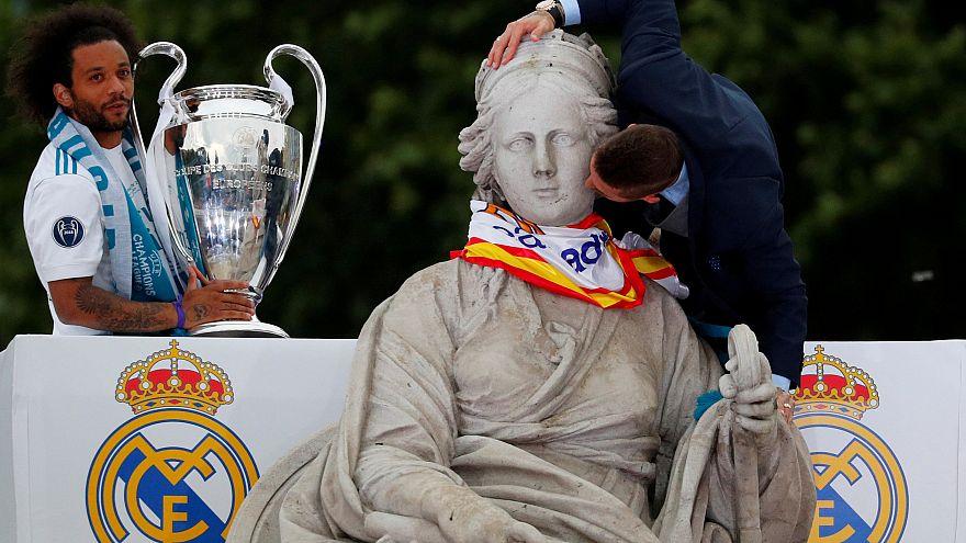 Madrid in festa per la Leggenda Real