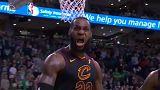 NBA: LeBron James bevitte a Clevelandet a nagydöntőbe
