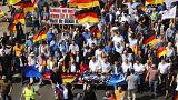 تظاهرات همزمان مخالفان نژادپرستی و راستگرایان افراطی در برلین